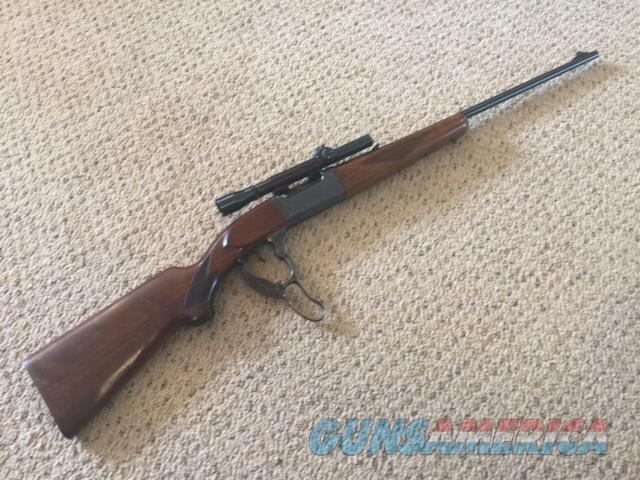 Savage model 99 lever action Rifle  Guns > Rifles > Savage Rifles > Other