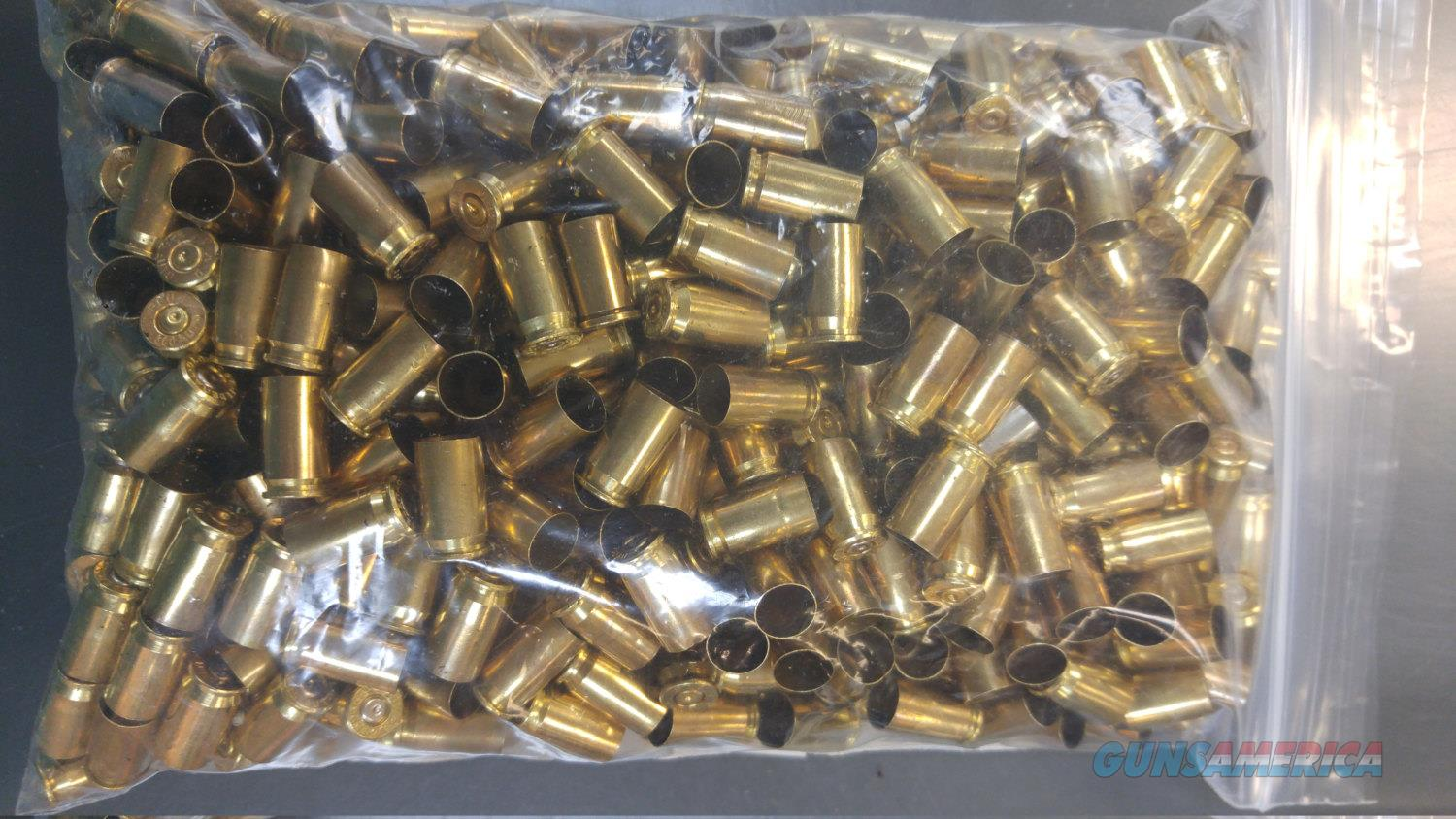 500 COUNT 380ACP POLISHED BRASS  Non-Guns > Reloading > Components > Brass