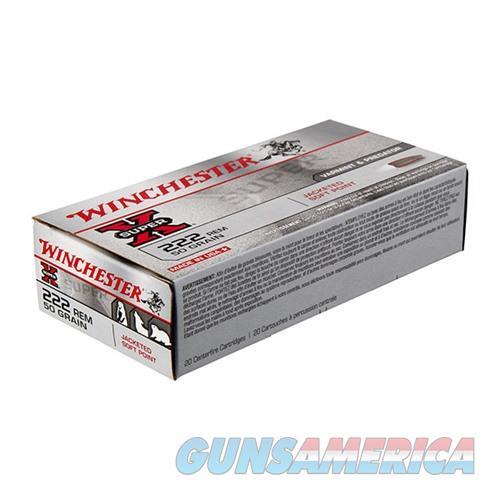 Winchester Ammo 222 Rem Super-X 50gr PSP  Non-Guns > Ammunition