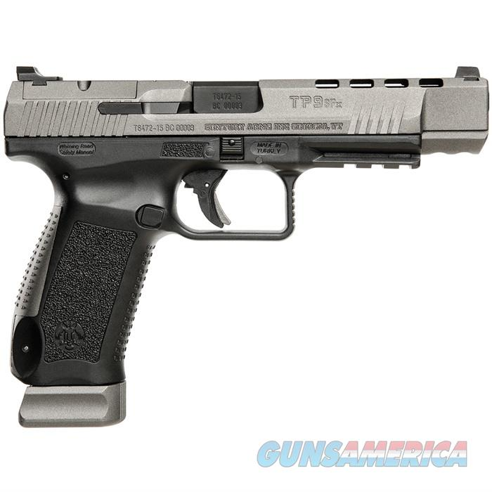 TP9SFX Black Pistol 9mm W/2 20Rd Mags Competition Model  Guns > Pistols > Century International Arms - Pistols > Pistols