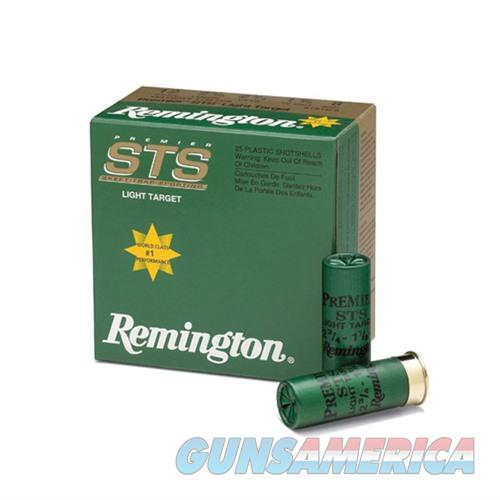 Remington STS Target 12ga 2.75'' 1-1/8oz #8 25/bx  Non-Guns > Ammunition