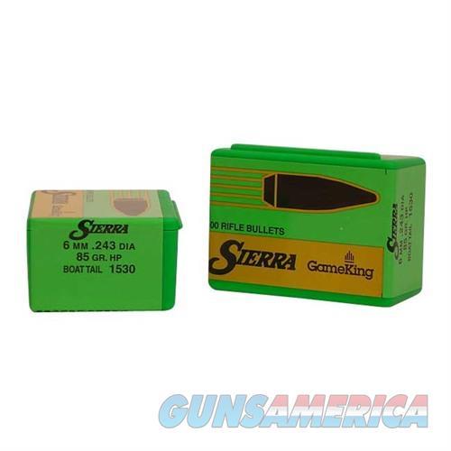 Sierra Bullet 6MM .243 85gr HPBT  Non-Guns > Reloading > Components > Bullets