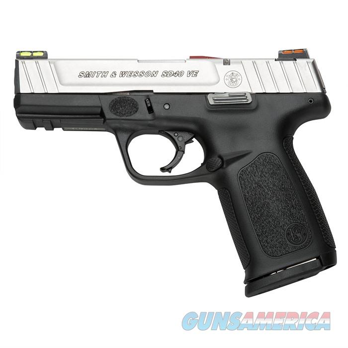 S&W SD40 VE 40SW 4'' Bbl Hi-Viz CA Compliant  Guns > Pistols > Smith & Wesson Pistols - Autos > Polymer Frame