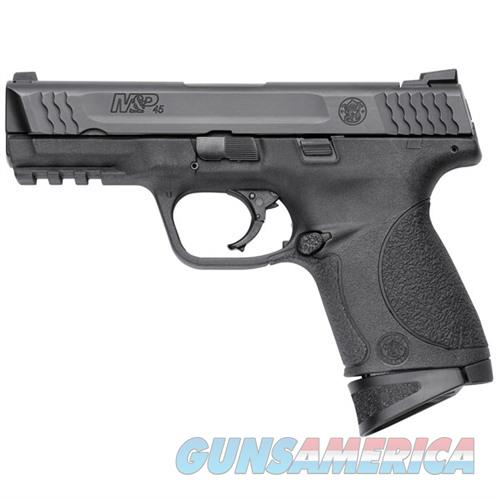 Smith & Wesson M&P45c Compact 45acp 4''  Bbl Thumb Safety  Guns > Pistols > Smith & Wesson Pistols - Autos > Polymer Frame