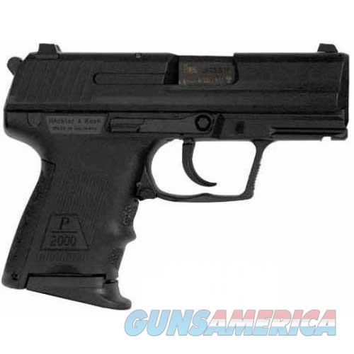 HK P2000 SK (V3) 40 S&W Decocking Button 9-rd (No Safety)  Guns > Pistols > Heckler & Koch Pistols > Polymer Frame