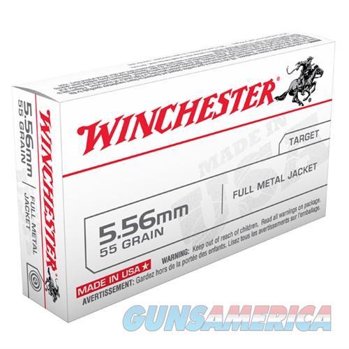 Winchester USA 5.56mm 55gr FMJ 20/bx  Non-Guns > Ammunition