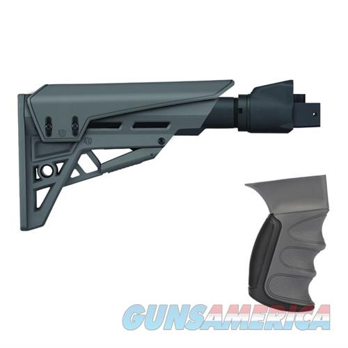 ATI Saiga TactLite Elite Adj Stock w/ Scorpion System Gray  Non-Guns > Gun Parts > Rifle/Accuracy/Sniper