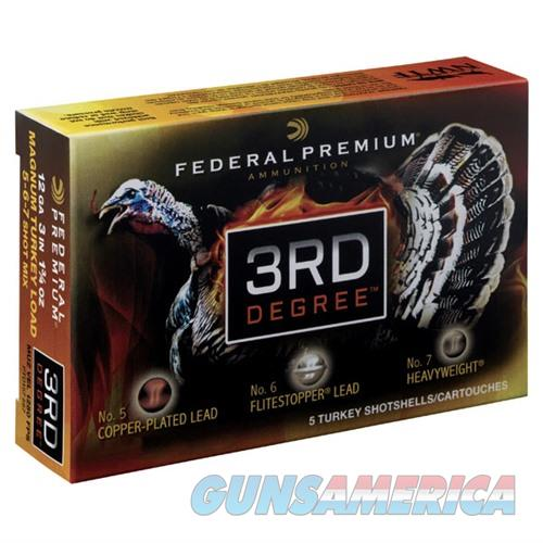 Federal 3rd Degree 12ga 3'' 1-3/4oz #5/#6/#7 5/bx  Non-Guns > Ammunition