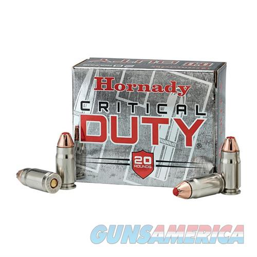 Hornady Critical Duty .357 SIG 135gr Flexlock 20Rd/Box 10Box/Case  Non-Guns > Ammunition