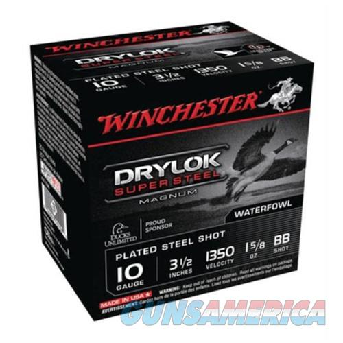 Winchester Drylok Super Steel Mag 10ga 3.5'' 1-5/8oz #BB 25/bx  Non-Guns > AirSoft > Ammo