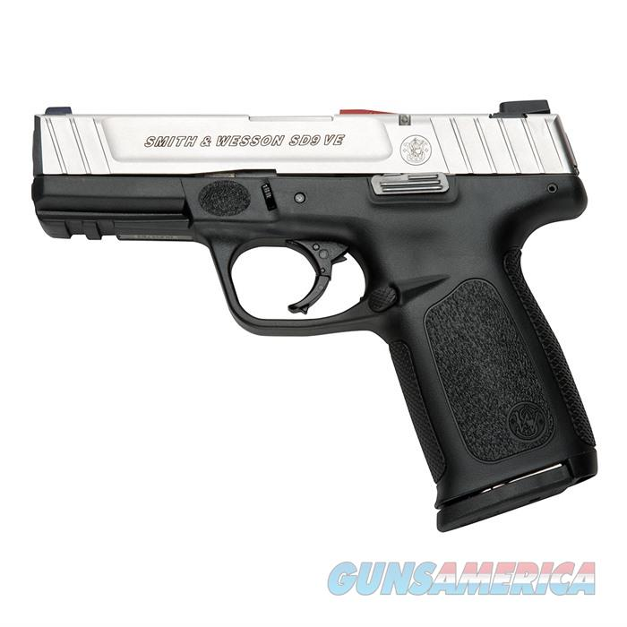 S&W SD9 VE 4'' Bbl 10Rd CA Compliant  Guns > Pistols > Smith & Wesson Pistols - Autos > Polymer Frame