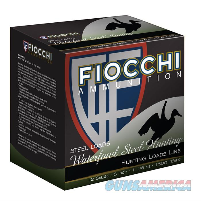 Fiocchi 123ST Speed Steel 12ga 3in MAX 1 1/8 ounce shot - 2  Non-Guns > Ammunition