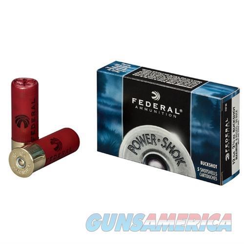 Federal Power Shok 12ga 2.75'' 27 pel #4B 5/bx  Non-Guns > Ammunition