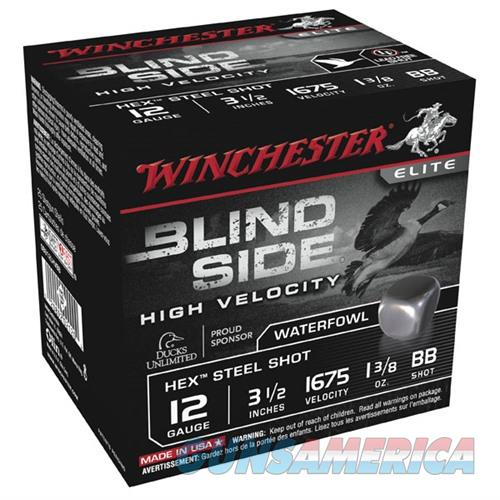Winchester Blind Side HV 12ga 3.5'' 1-3/8 oz #BB 25/bx  Non-Guns > Ammunition