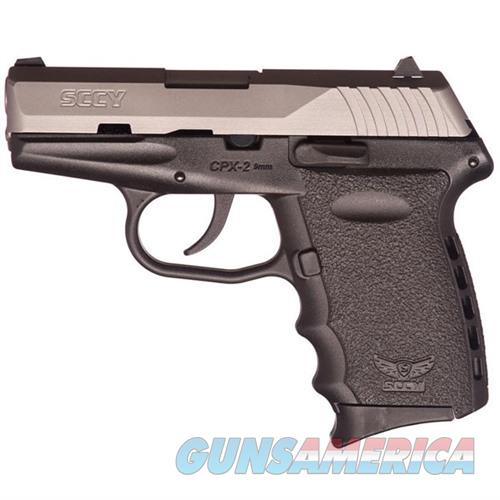 Sccy CPX-2 TT 9mm SS/Black (No Manual Safety)  Guns > Pistols > A Misc Pistols