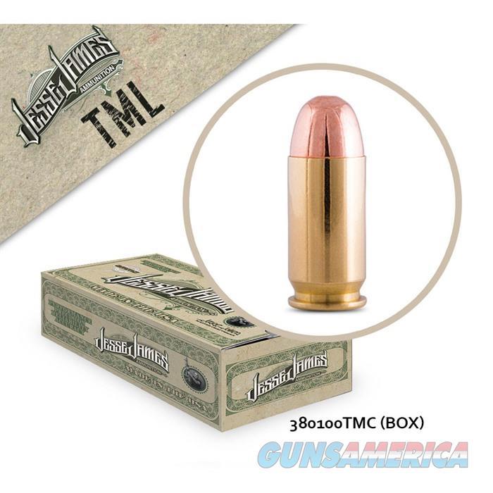 Jesse James TML 380Auto 100gr TM 50bx  Non-Guns > Ammunition