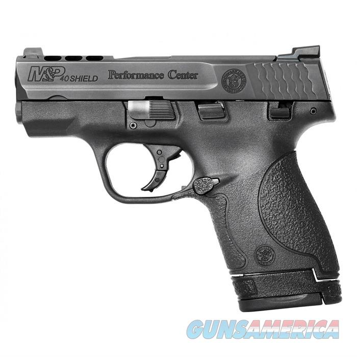 S&W M&P 40 S&W Shield Ported Night Sights 3.1'' Bbl 6Rd  Guns > Pistols > Smith & Wesson Pistols - Autos > Shield