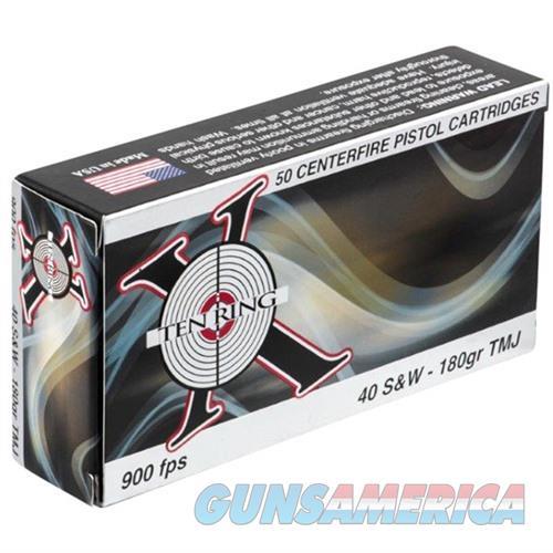 Ten Ring 40 S&W 180gr FMJ 50/bx  Non-Guns > Ammunition