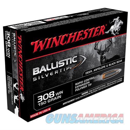Winchester Ammo 308 Winchester 150gr BST Ballistic Silver Tip  Non-Guns > Ammunition