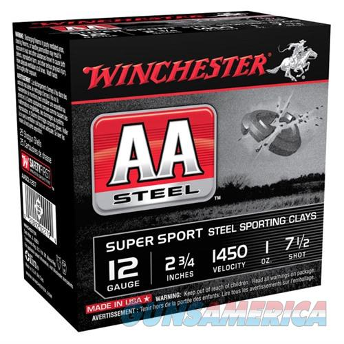 Winchester AA Steel 12ga 2.75'' 1oz #7.5 25/bx  Non-Guns > Ammunition