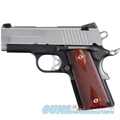 Sig Sauer 1911 Ultra Two-Tone 45 ACP  Guns > Pistols > Sig - Sauer/Sigarms Pistols > 1911