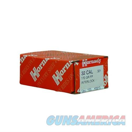 Hornady 32 CAL .321 170 GR FP  Non-Guns > Reloading > Components > Bullets