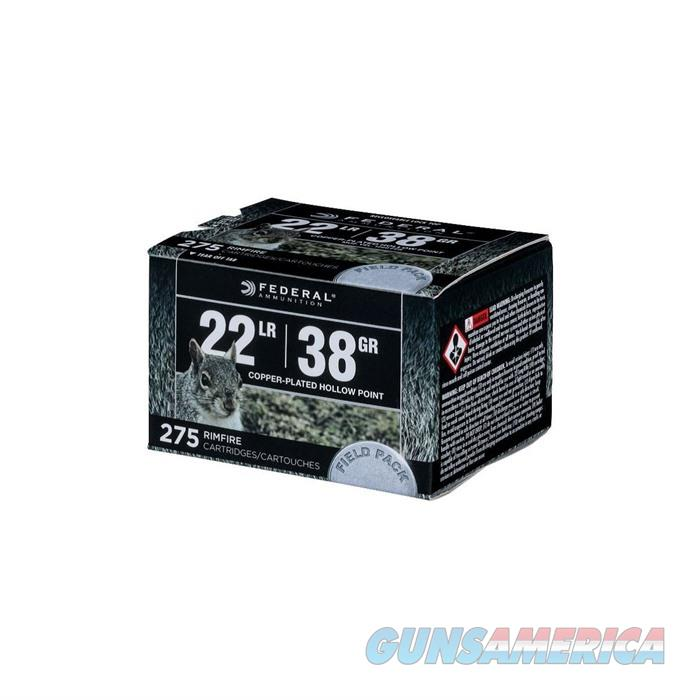 Federal 22 LR 38 GR CPHP (275RD) Bulk Field Pack 275/bx  Non-Guns > Ammunition