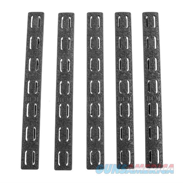 5.5'' Keymod Rail Panel Kit, Black, 5 Pack  Non-Guns > Gun Parts > Rifle/Accuracy/Sniper
