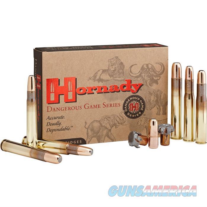 Hornady Dangerous Game Ammo 450 RIGBY 480 GR DGX? BONDED 20/bx  Non-Guns > Ammunition