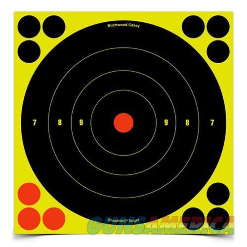 Shoot-N-C 8'' Bull's-Eye Target 500 Sheet Pack  Non-Guns > Targets > Clay Throwers