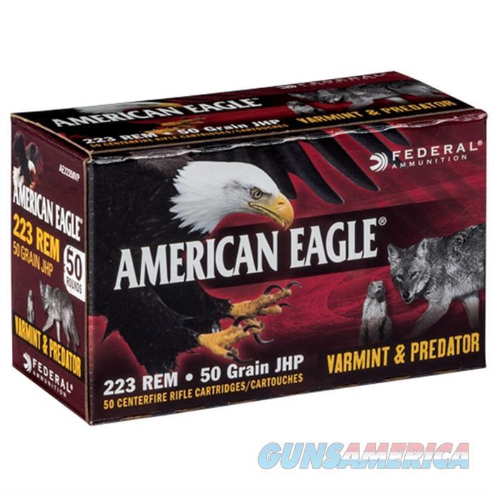 American Eagle 223 50gr JHP V&P 50bx  Non-Guns > Ammunition