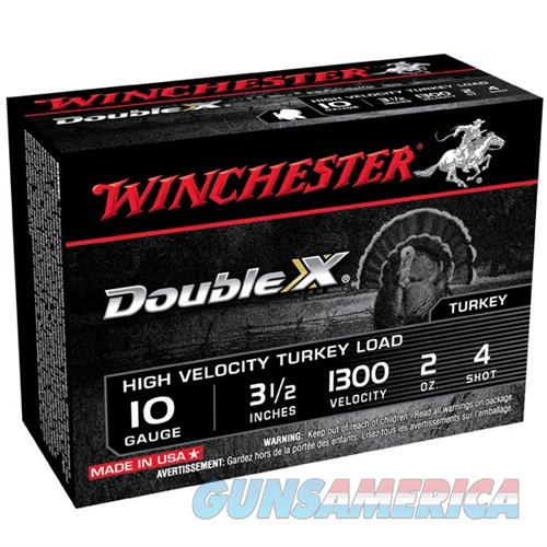 Winchester Double X Turkey 10ga 3.5'' 2oz #4 10/bx  Non-Guns > Ammunition