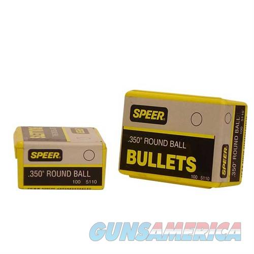 Speer Bullet Muz Rnd Ball .350  Non-Guns > Reloading > Components > Bullets