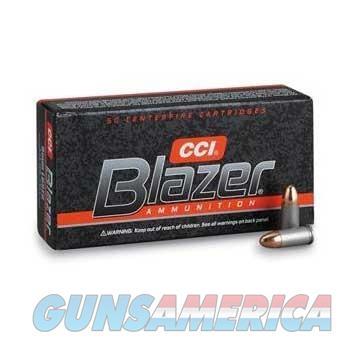 CCI Ammo 9mm 124gr. FMJ Blazer  Non-Guns > Ammunition