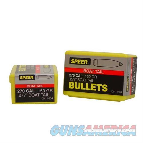 Speer Bullet .270 .277 150gr SPTZ SP BT  Non-Guns > Reloading > Components > Bullets