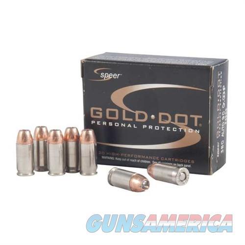 CCI Ammo 380 ACP 90gr. Gold Dot  Non-Guns > Ammunition