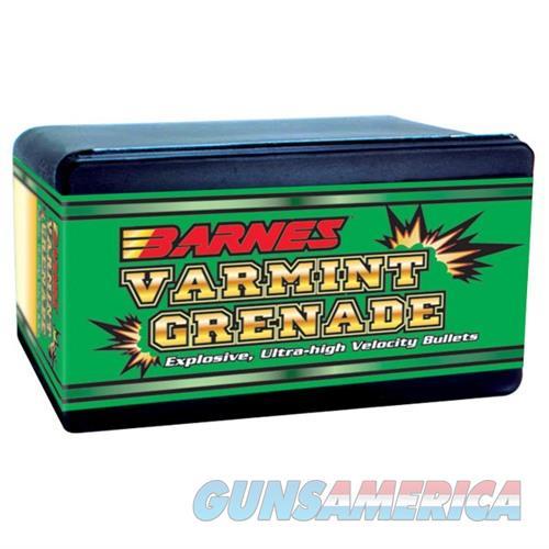 Barnes Varmint Grenade Bullets 22 Hornet 30gr 100/bx  Non-Guns > Reloading > Components > Bullets