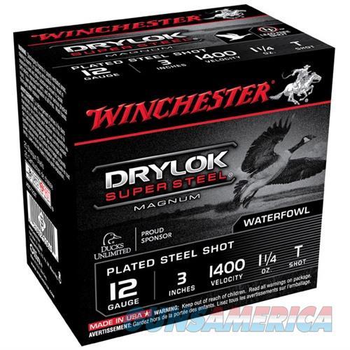 Winchester Drylok Super Steel Mag 12ga 3'' 1-1/4oz #T 25/bx  Non-Guns > Ammunition