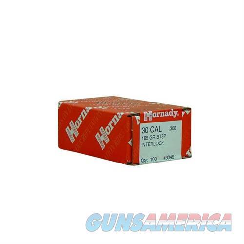 Hornady 30 CAL .308 165 GR BTSP  Non-Guns > Reloading > Components > Bullets