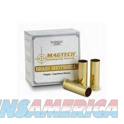 MagTech 12 Ga Brass Shotshell 25/bx  Non-Guns > Reloading > Components > Brass