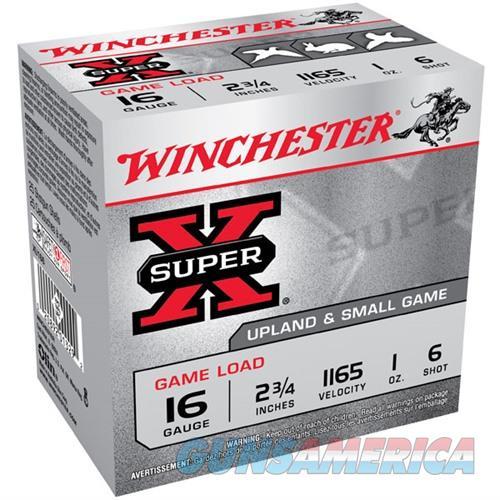 Winchester Super X Game Load 16ga 2.75'' 1 oz. #6 25/bx  Non-Guns > Ammunition