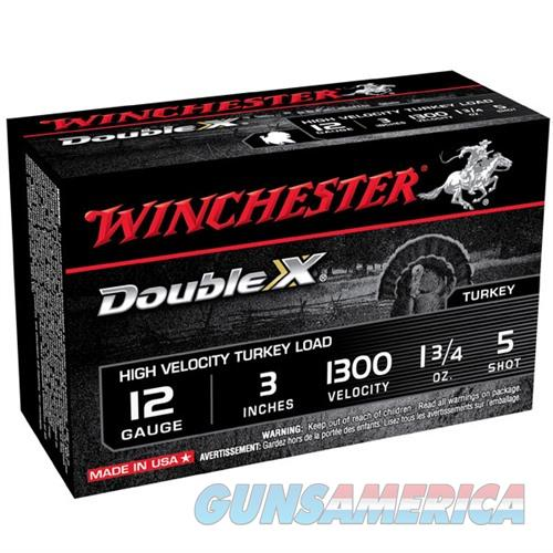 Winchester Double X Turkey 12ga 3'' 1-3/4oz #5 10/bx  Non-Guns > Ammunition