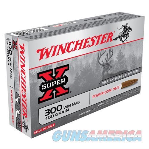 Winchester Super-X 300 Win Mag 150gr Power-Core 95/5 20/bx  Non-Guns > Ammunition