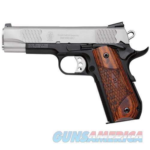 S&W SW1911SC E-Series 45acp Round Scandium Frame 2-Tone  Guns > Pistols > Smith & Wesson Pistols - Autos > Steel Frame