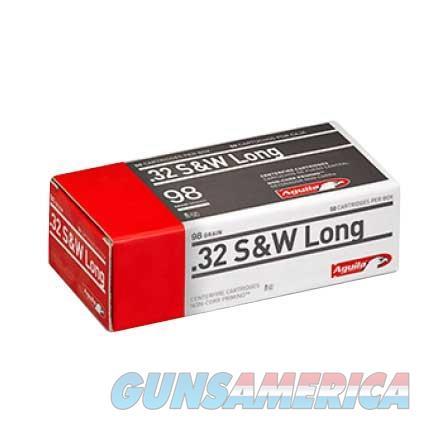 AGUILA 32 S&W LONG 98GR 50/BOX  Non-Guns > Ammunition