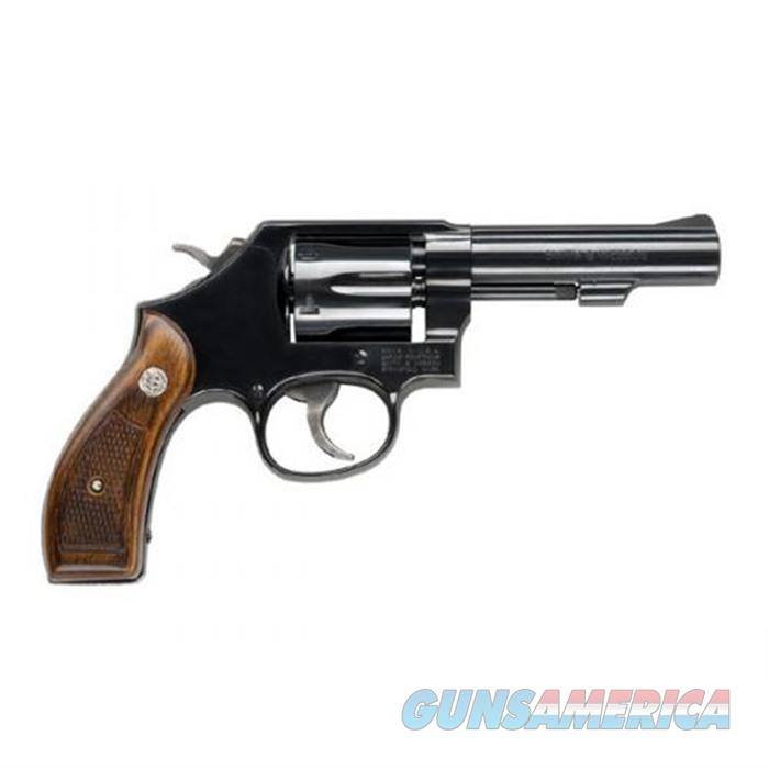 SW 10 38 Spl +P 4'' Bbl Blu/Blk 6Rd  Guns > Pistols > Smith & Wesson Revolvers > Model 10
