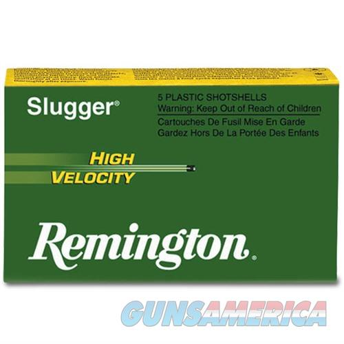 Remington Slugger HV 12ga 3'' 7/8oz Slug 5/bx  Non-Guns > Ammunition