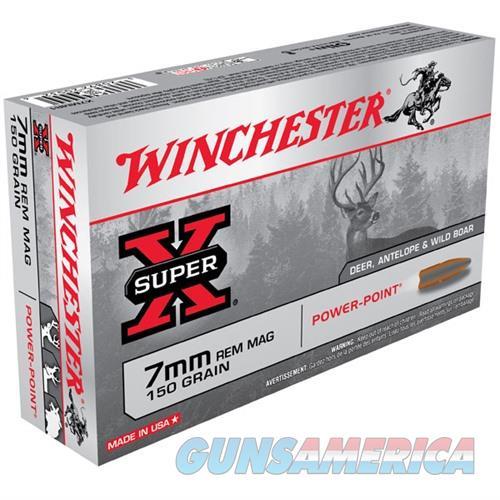 Winchester Super-X 7mm Rem Mag 150gr PP 20/bx  Non-Guns > Ammunition
