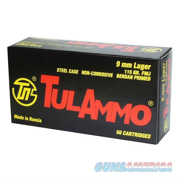Tulammo 9x19 Steel Case 115 gr FMJ 50/box  Non-Guns > Ammunition