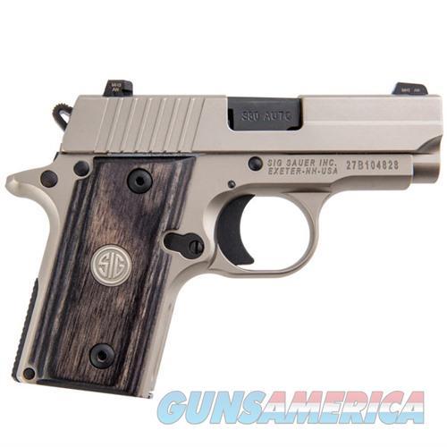 Sig Sauer P238 HD Nickel PVD 380 ACP  Guns > Pistols > Sig - Sauer/Sigarms Pistols > P238